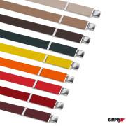 bretelle colori vari
