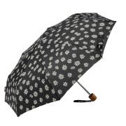 Ombrello mini stelle alpine nero