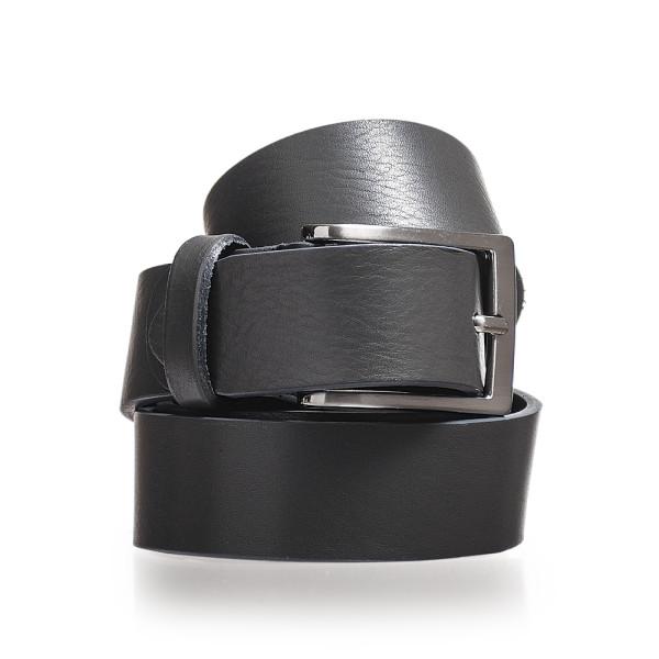 cintura uomo in pelle color grigio