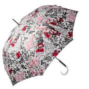 ombrello lungo donna fantasia giornale