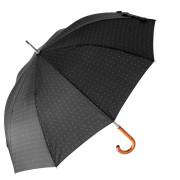 ombrello automatico uomo nero pois bianchi