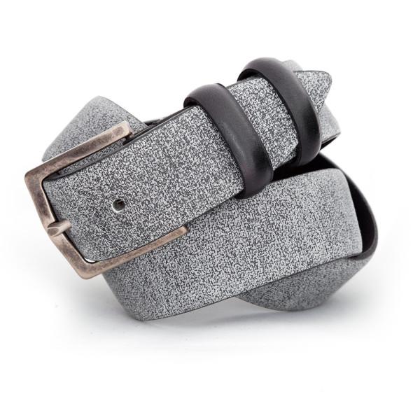 cintura uomo grigia